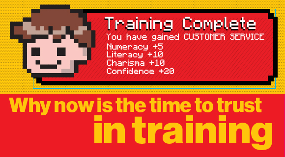 Why now is the time to trust in training graphic