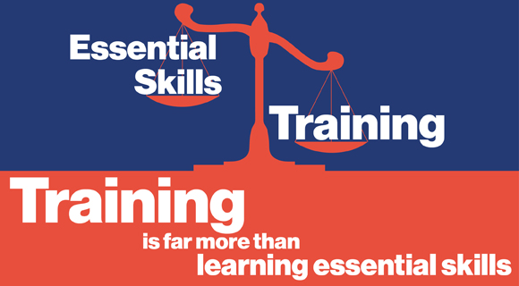 Training is far more than learning essential skills