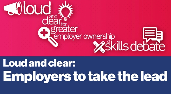 Loud and clear: employers to take the lead