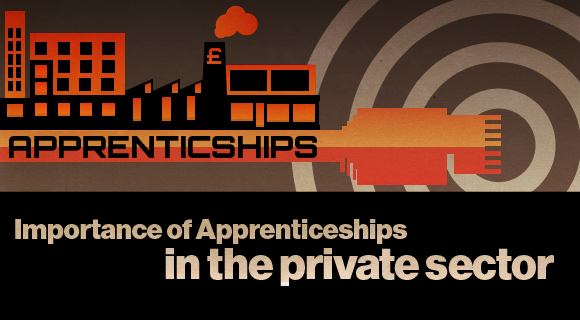 Apprenticeships private sector