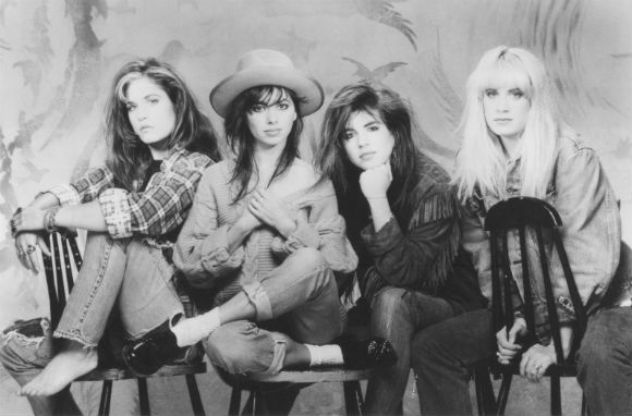 The Bangles, they did that song 'Manic Mondays'? You know, from the 80s