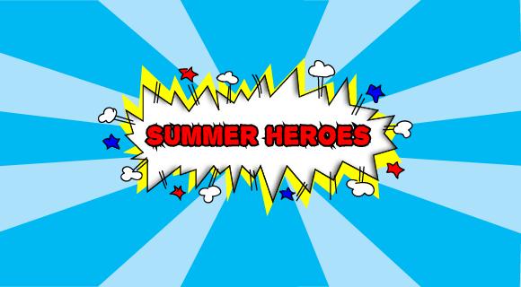 Summer heros banner